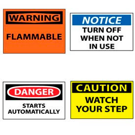OSHA Machine Labels