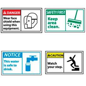 Ansi Graphic Machine Labels