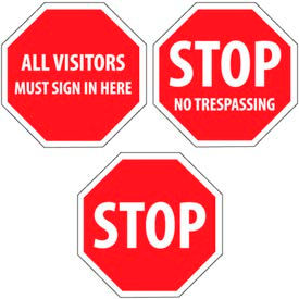 Security Stop Signs