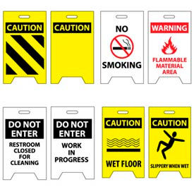 Facility A-Frame Floor Signs