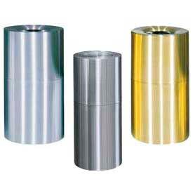 Rubbermaid® Atrium Aluminum & Brass Containers