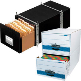 Space-Saving File Corrugated Storage Drawers