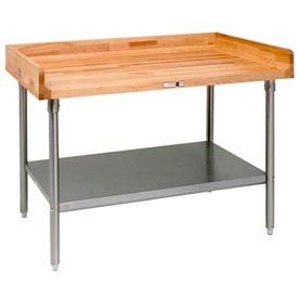 NSF Approved Maple Top Food Preparation Tables