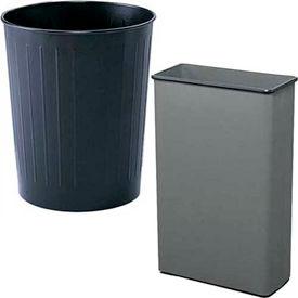 Metal Open Top Wastebaskets