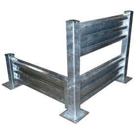 Galvanized Structural Steel Guard Rail Systems