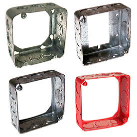 Square Extension Rings