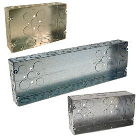 Welded Gang Boxes