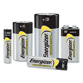 Energizer® Industrial Alkaline Batteries