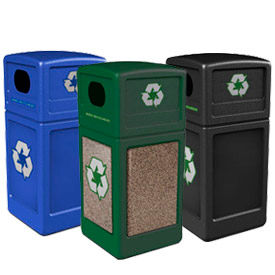Square Recycling Plastic Containers