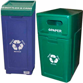 Plastic Recycling Cans
