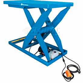 Extra-Heavy Duty Powered Scissor Lift Tables - 5000 Lb. Capacity & Greater