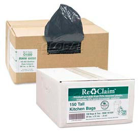 Recycled Trash Can Liners & Garbage Bags