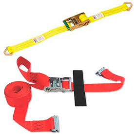 Cargo Winch & Ratchet Tie Down Strap Assemblies