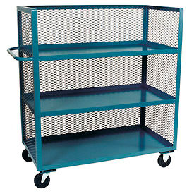 3-Sided Clearview Steel Mesh PanelFixed Shelf Trucks