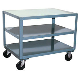 Jamco Reinforced Mobile Steel Tables