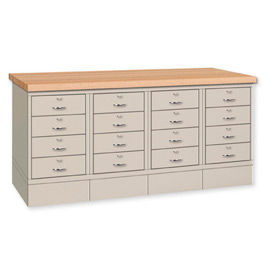 Cabinet Bench With Drawers