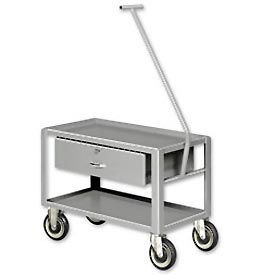 Low-Profile Pull Table Carts