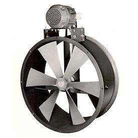 Explosion Proof Tube Axial Belt Drive Duct Fan For Dry Environment