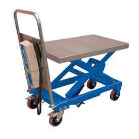 Linear Actuated Mobile Lift Tables