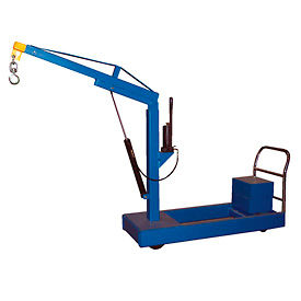 Counter Balanced Reversed Boom Floor Cranes