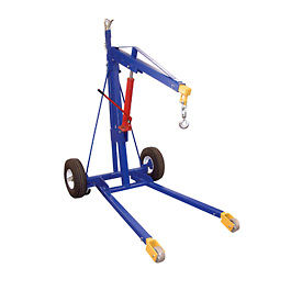 Portable Hoist Trailer Crane