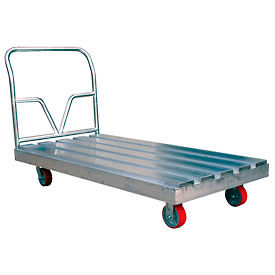 Aluminum Channel Deck Platform Truck