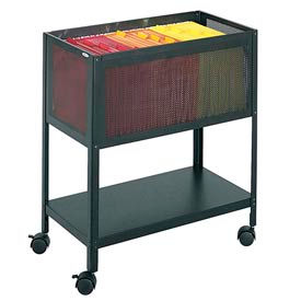 Safco® Mesh Tub Mobile Filing Carts