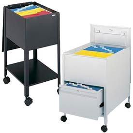 Mobile Steel Tub File Carts