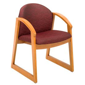 Safco® - Urbane® Wood Frame Guest Chairs