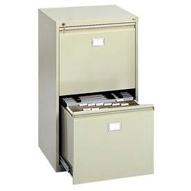 Safco® - 2-Drawer Vertical File Cabinet