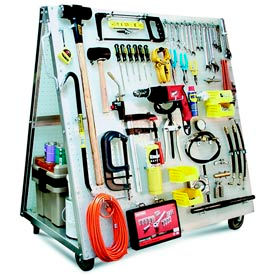 Triton - Industrial Strength Mobile Pegboard Tool Carts