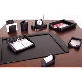 Leather & Faux Leather Desktop Organizers