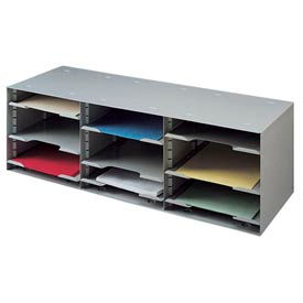 Buddy Products - Adjustable Shelf Sorting Rack