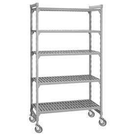 Camshelving® Mobile Plastic Shelf Trucks