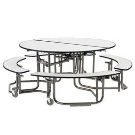 KI Uniframe® Round Table With Seating