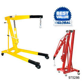 Telescopic Floor Cranes