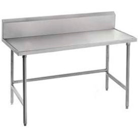 Stainless Steel Workbenches - 10 Inch Backsplash
