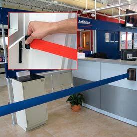Tensabarrier® Wall Mount Belt Barriers With Standard Receiver