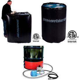 BriskHeat® Hazardous Area Drum Heaters