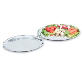 Stainless Steel & Chrome Round Trays