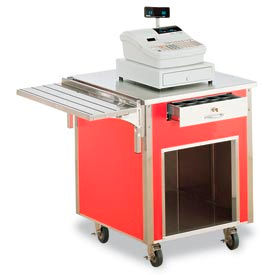 Vollrath® Signature Server® Corner Station V-Rib Tray Slides
