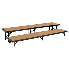 National Public Seating® - Straight Choral Risers And Guard Rails