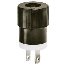 Bryant® Straight Blade 2-Pole 2-Wire Attachment Plugs