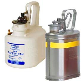 Eagle Laboratory Safety Cans