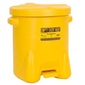 Eagle Poly Oily Waste Cans