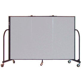 Screenflex® - 5'H Fabric Upholstered Mobile Room Dividers