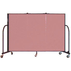 Screenflex® - 6' Fabric Upholstered Mobile Room Dividers