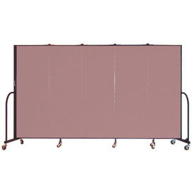 Screenflex® - Fabric Upholstered Mobile Room Dividers - 8 Ft Height
