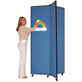 Screenflex® Fabric Upholstered Mobile Display Towers