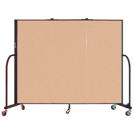 Screenflex® - 5'H Vinyl Upholstered Mobile Room Dividers
